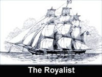 The Yacht set sailed by Sir James Brooke into Sarawak in 1839.